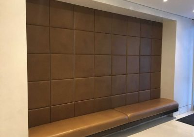 Cushioned Leather Panels